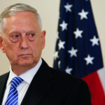 U.S. Defence Minister James N. Mattis is seen during a press conference before the commemoration of the 70th anniversary of the Marshall Plan at the George C. Marshall Center in Garmisch-Partenkirchen, Germany June 28, 2017.
