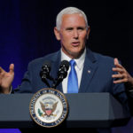 United States Vice President Mike Pence addresses the National Governors Association summer meeting in Providence, Rhode Island, U.S., July 14, 2017.
