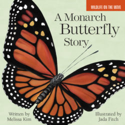 Cover for &quotA Monarch Butterfly Story,&quot published by Islandport Press in May 2017.