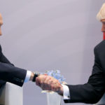 President Donald Trump shakes hands with Russian President Vladimir Putin during the their bilateral meeting at the G20 summit in Hamburg, Germany July 7, 2017.