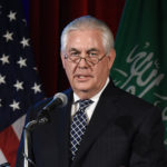 U.S. Secretary of State Rex Tillerson speaks during the second annual U.S.-Saudi Arabia CEO Summit at the U.S. Chamber of Commerce, on April 19, 2017 in Washington, D.C.