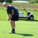 George Thibodeau putts on a green at Hidden Meadows Golf Course in Old Town in 2013.