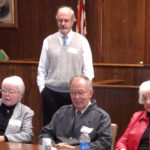 The late Wilma Bradford [far left] is pictured here in 2007 attending a panel discussion in Bangor that marked the 30th anniversary of court mediation in Maine. A mediator for many years, Bradford suffered congestive heart failure and was 97.