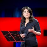 Monica Lewinsky speaks at the TED2015 conference in Vancouver, Canada, March 19, 2015.