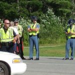 LINCOLN, Maine -- 07/22/17 -- Officers from Lincoln and the Maine State Police are investigating a deadly car-motorcycle crash near Drinkwater's Variety on Route 2. A man, whose name has not yet been released, died at the scene.