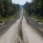 The Golden Road leading to Millinocket, July 29, 2015.