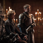 "Lena Headey and Nikolaj Coster-Waldau on Season 7's ""Game of Thrones."""