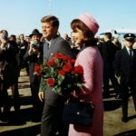 President John F. Kennedy and first lady Jacqueline Bouvier Kennedy arrive at Love Field in Dallas, Texas, in this November 22, 1963 handout photo courtesy of the John F. Kennedy Presidential Library.