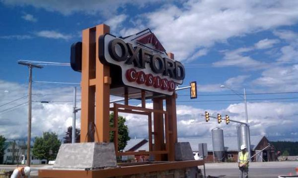 The sign outside the Oxford Casino in a 2011 file photo.