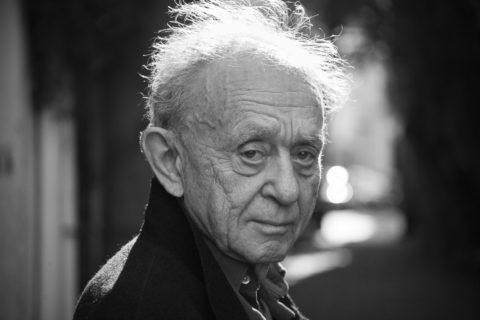 Frederick Wiseman. Photo by Erik Madigan Heck.