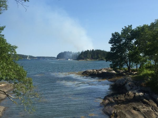 Sheep Island in the New Meadows River is part of the area manned by the Harpswell Neck Fire Department.