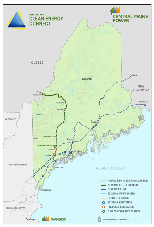 Map Of New England And Quebec.Cmp Unveils Plan That Could Quench Lepage S Thirst For
