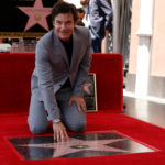 Actor Jason Bateman touches his star after it was unveiled on the Hollywood Walk of Fame in Los Angeles, California, July 26, 2017.