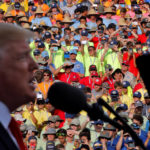 President Donald Trump delivers remarks at the 2017 National Scout Jamboree in Summit Bechtel National Scout Reserve, West Virginia, July 24, 2017.