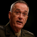 Chairman of the Joint Chiefs of Staff Gen. Joseph Dunford testifies before the Senate Armed Services Committee on Capitol Hill in Washington, D.C., June 13, 2017.