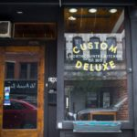 Biddeford restaurant Custom Deluxe is shown closed, weeks after shutting its doors, on Thursday.