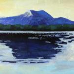 February Katahdin Oil on canvas