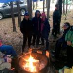Teen Trekkers Team Osprey at Blackwoods Campground
