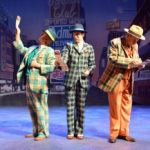 """Fugue for Tinhorns"" musical number in ""Guys and Dolls,"" playing through July 15 at Bowdoin College."