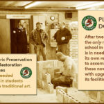 Maine Masonry School needs help to continue Historic Preservation and Restoration courses that train students for lifelong professions