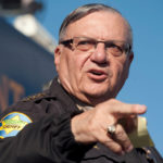 Maricopa County Sheriff Joe Arpaio announces newly launched program aimed at providing security around schools in Anthem, Arizona, Jan. 9, 2013.