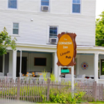 """The Cornish Inn, at the edge the northern York County town's historic district, is set to be transformed to a """"bud and breakfast' called the Laughing Grass Inn for a 3-week stint starting Aug. 15. Folks who pay to stay overnight may be gifted marijuana edibles and take part in a happy hour, if they so desire."""