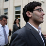 Former drug company executive Martin Shkreli exits U.S. District Court on Thursday