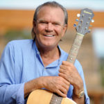 Recording artist Glen Campbell is photographed at his home in Malibu, California, Aug. 4, 2008.