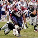 New England Patriots defensive lineman Vince Wilfork.