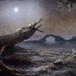 A life reconstruction of Lemmysuchus by Mark Witton is shown in this handout photo of the artist's depiction taken April 7, 2017.