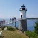 The Isle au Haut lighthouse.
