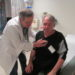 Veteran Charles Soule receives a checkup from Dr. Robert Shaw at Togus VA Medical Center in this BDN file photo. The VA clinic in Portland is due to be expanded to a larger space and begin offering a variety of new health services.