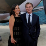 Director Christopher Nolan and Emma Thomas arrive for the world premiere of Dunkirk in London, Britain, July 13, 2017.