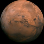 Mars as seen in this photo from NASA.