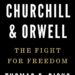Winston Churchill and George Orwell book cover