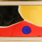 Gouache on paper by Alexander Calder (NY/France, 1898-1976) one of over 625 works of art to be sold at Thomaston Place Auction Galleries on August 25, 26 & 27