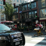 Fire officials said the fire at Otto Pizza on Congress Street started around 10 a.m. Sunday.