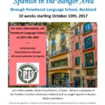 Spanish language classes with Native Speaker Start in October