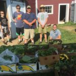 Friday, August 25 the Teen Ag Crew will give tours of their 4-acre garden that produces 20,000+ lbs of produce annually.