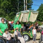 Narraguagus Bay  Nursing Home residents attend the Milbridge Days parade this July.