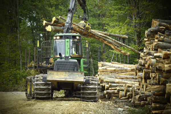 Maine's First Mechanized Logging Program Underway — User