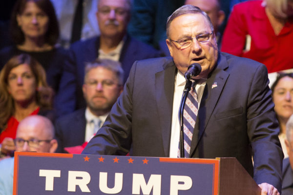 LePage meeting with Pence in Washington on health care, taxes