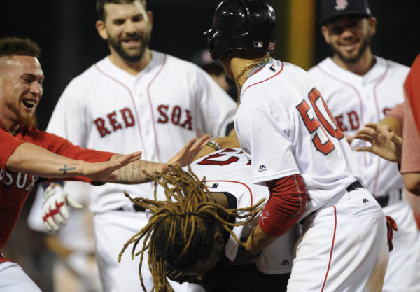 Red Sox outlast Blue Jays in 19 innings