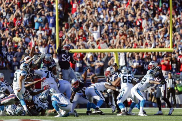 Patriots-Panthers Week 4 Predictions