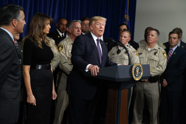 President Trump traveling to Las Vegas 'to pay our respects'