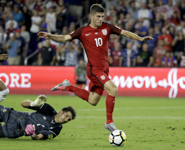 Pulisic Leads Us Soccer Team S Rout Panama