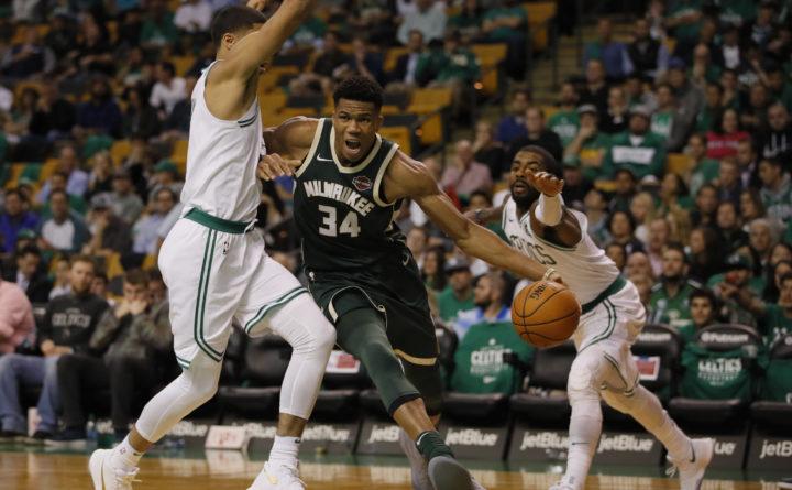 check out 2e94c f381b Greek Freak' leads Bucks past Celtics, 108-100 — Boston ...