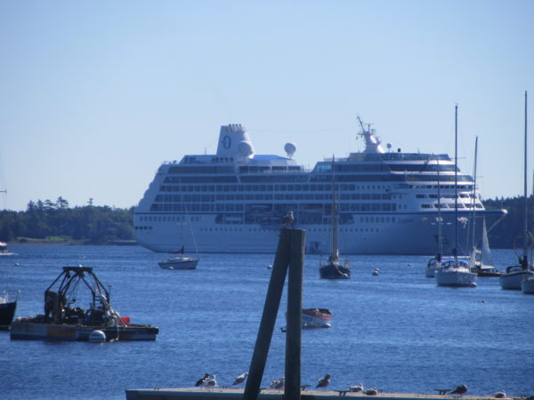 This Once Lowkey Fishing City Could Become Maines Next Big - Big cruise ship