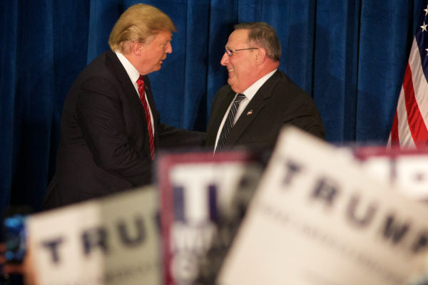 LePage says report that Trump wants him to run against Sen
