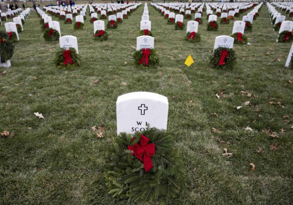 Convoy of Wreaths Headed for Arlington National Cemetery